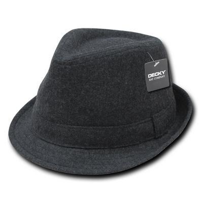Melton Fedora Hat (555_C3)