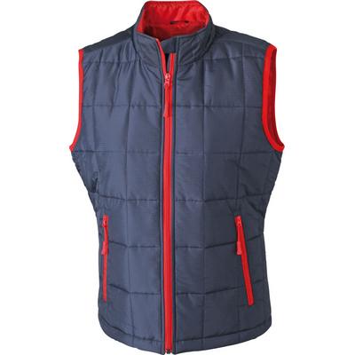 James & Nicholson Ladies Padded Light Weight Vest (JN1036_C3)
