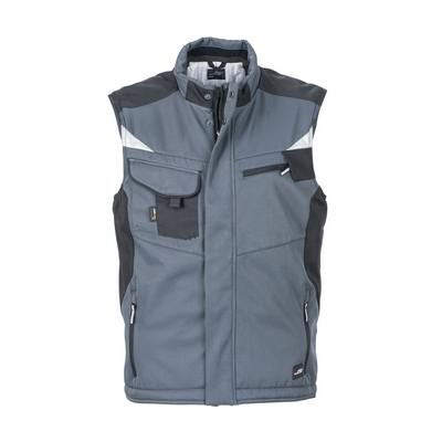 James & Nicholson Craftsmen Softshell Vest (JN825-6XL_C3)