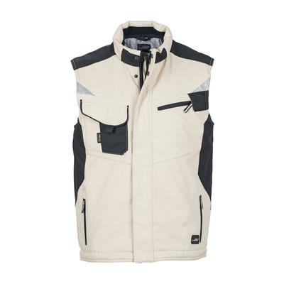 James & Nicholson Craftsmen Softshell Vest (JN825-XS-3XL_C3)