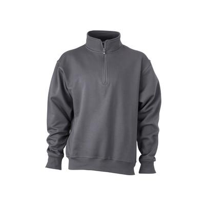 James & Nicholson Workwear Half Zip Sweat (JN831_C3)