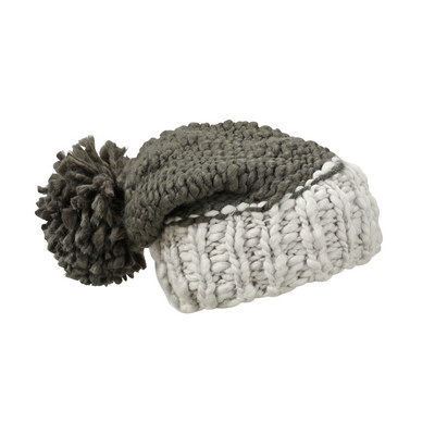 Myrtle Beach Coarse Knitted Hat with Pompon (MB7986_C3)