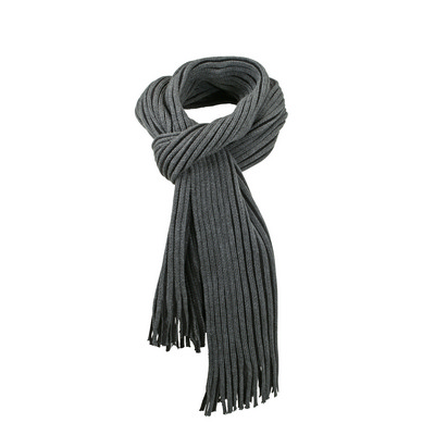 Myrtle Beach Ribbed Scarf (MB7989_C3)