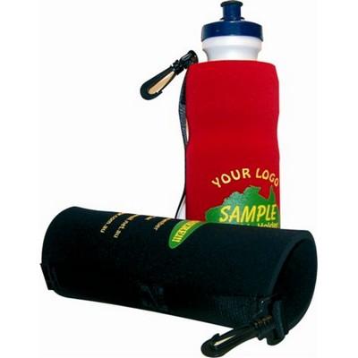 Open End Water Bottle + Clip/Belt