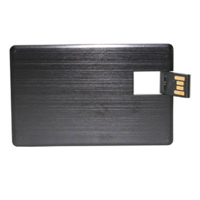 Alu Black Credit Card Drive 16GB