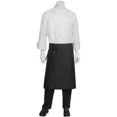 Black Tapered Apron w Flap