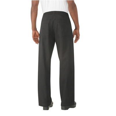 Black Better Built Baggy Chef Pants