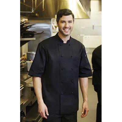 Canberra Black Basic Chef Jacket