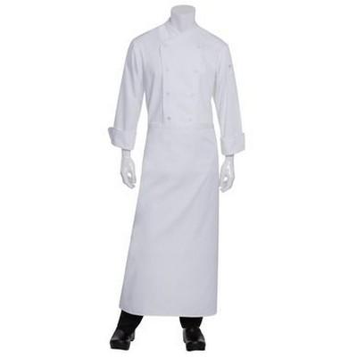 Full Length White Chefs Apron