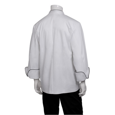 Champagne White Executive Chef Jacket