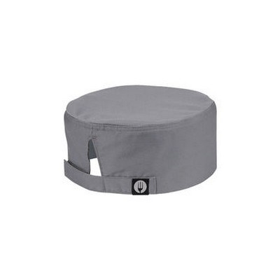 Cool Vent Grey Chef Beanie