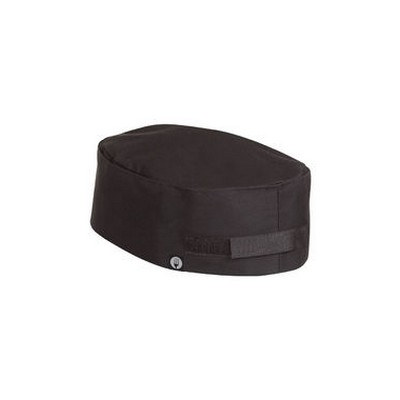 Double Rimmed Black Chef Beanie