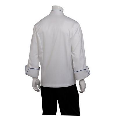 Carlton White 100% Cotton Chef Jacket