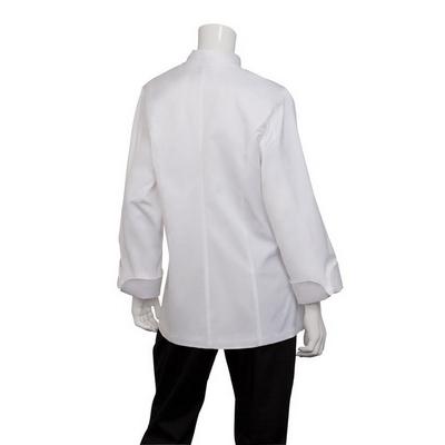 Elyse Womens 100% Cotton Chef Jacket