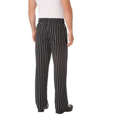 Chalkstripe Baggy Chef Pants