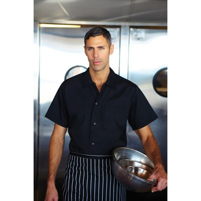 Black Utility Cook Shirt