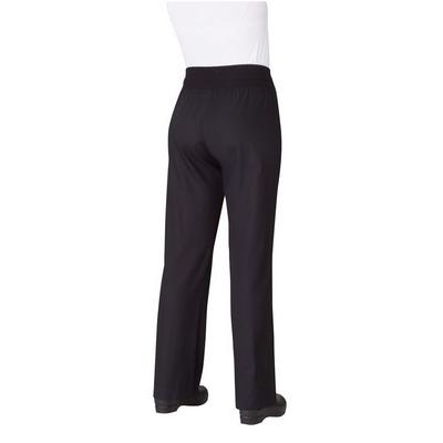 Comfi Womens Black Chef Pants