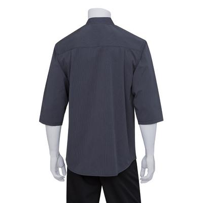 Deep Grey 34 Sleeve Chef Shirt