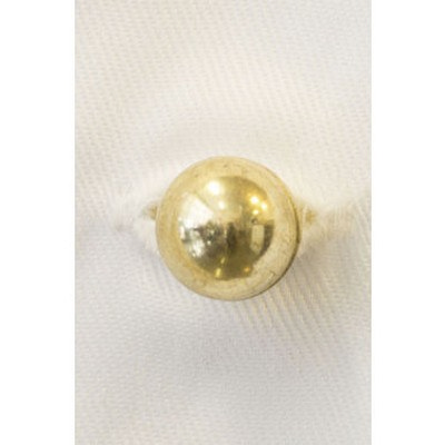 Stud Buttons - Gold - 10 Pack