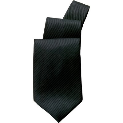 Black Patterned Tie