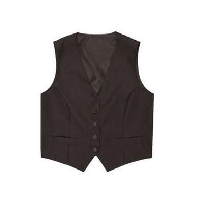 Womens Black Basic Vest