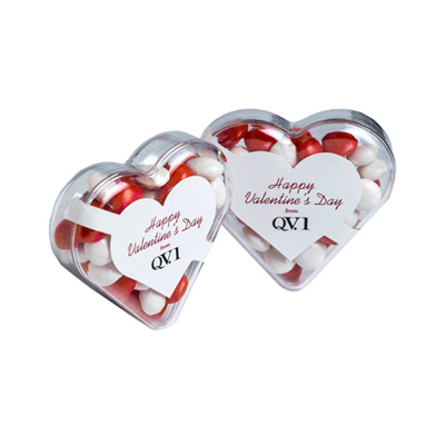 Acrylic Heart Filled With Chewy Fruits 50G sticker