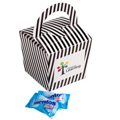 Coloured Noodle Box with Mentos