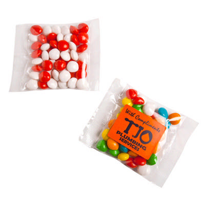 Chewy Fruits Bag 50g - Sticker on bag