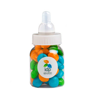 Baby Bottle Filled with Chewy Fruit
