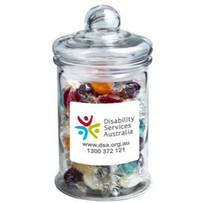 Big Apothecary Jar with Boiled Lollies 700g x88