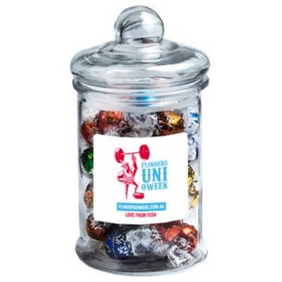 Big Apothecary Jar with Lindt Balls X40