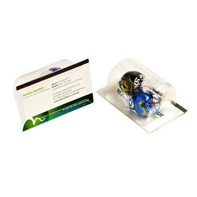 Biz Card Treats with Lindt Balls x2