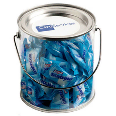 Big PVC Bucket filled with Mentos