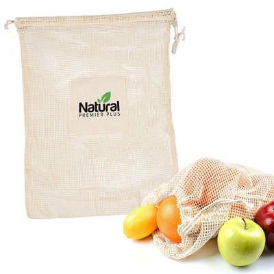 Cuban Cotton Mesh Produce Bag