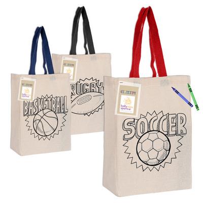 Colouring Calico Trade Show Bag