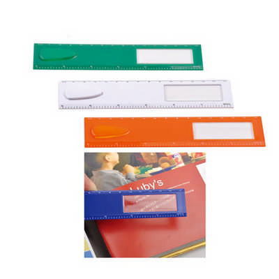 Ruler with Magnifying and Bookmark