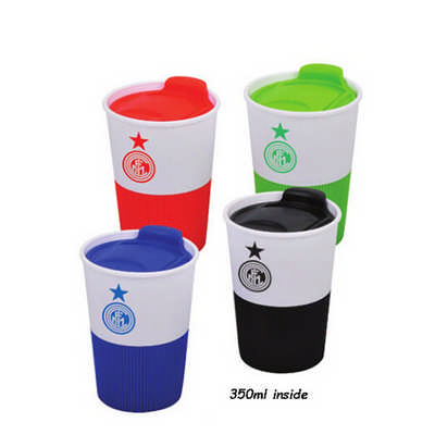 Cup with Silicone Case