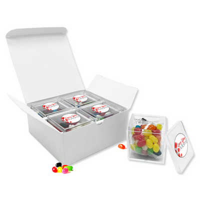 Jelly Bean 4 Cubes In Gift Pack
