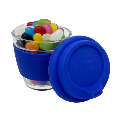 Jelly Bean In Venice Glass Coffee Cup