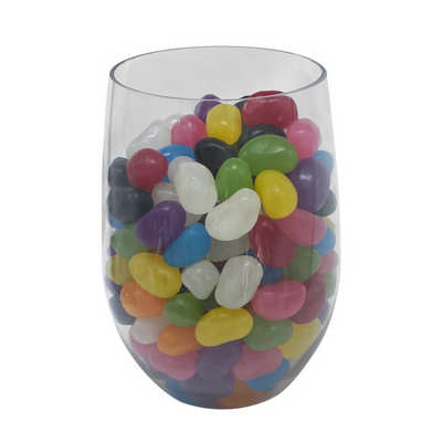 Jelly Bean In Crystal PET Cup