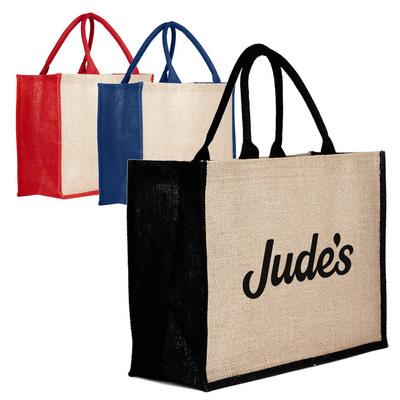 Jute Bag Colored - (printed with 1 colour(s)) JTB002_DEX