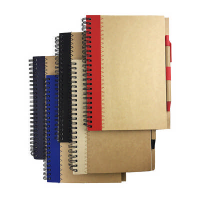 ENVI A5 RECYCLED PAPER NOTE BOOK