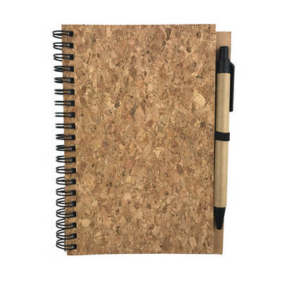 FATINO B6 CORK NOTE BOOK