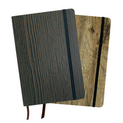 A5 WOOD LOOK NOTE BOOK