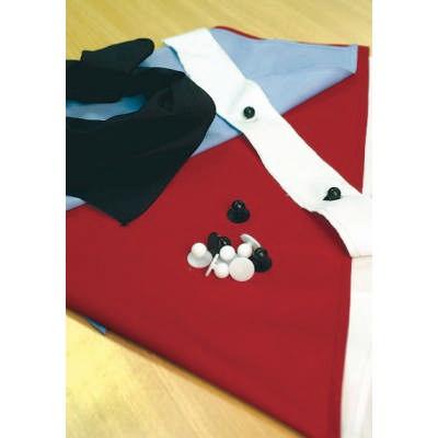 Chef Jacket Button Strip