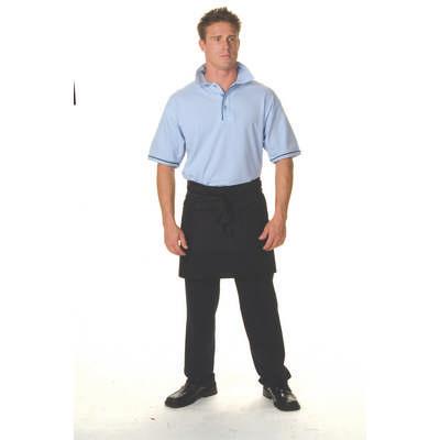200gsm Polyester Cotton Short (1/4) Apron No Pocket