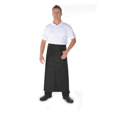 290gsm Cotton Drill Continental Apron With Pocket