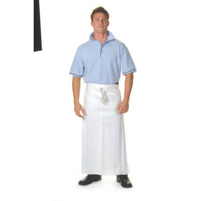 200gsm Polyester Cotton Continental Apron With Pocket