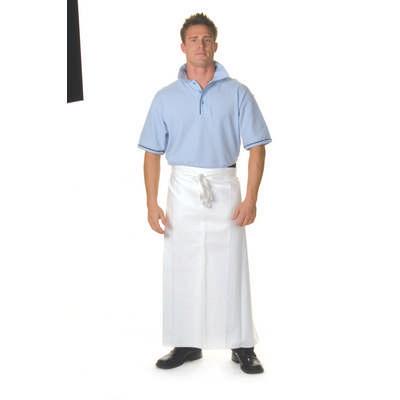 200gsm Polyester Cotton Continental Apron No Pocket