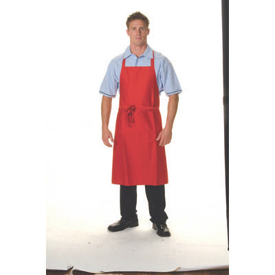 200gsm Polyester Cotton Full Bib With Pocket